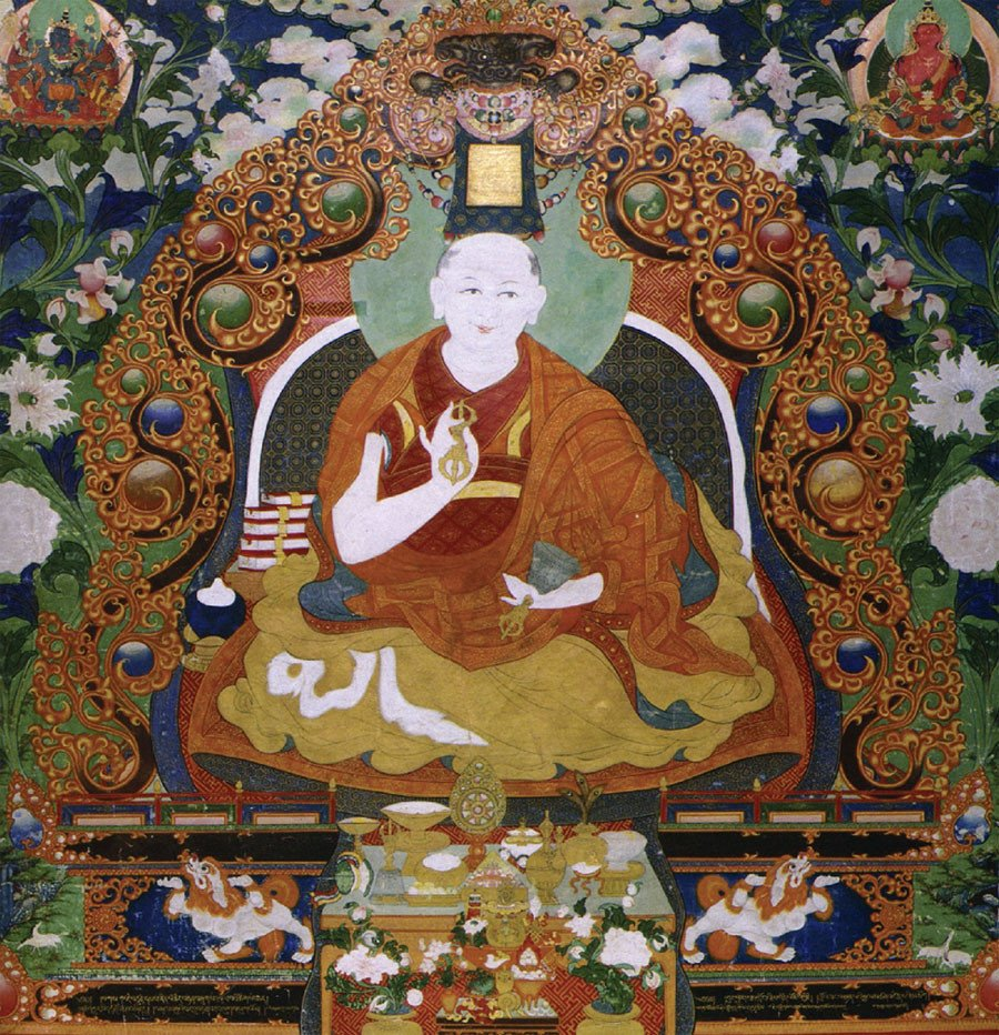 THE FIRST BOGD ZANABAZAR